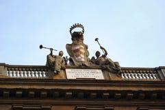 Particolare della costruzione, Firenze fotografie stock libere da diritti