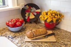 Particolare della cucina Fotografia Stock
