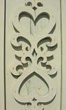 Particolare della decorazione del hou di legno Fotografie Stock