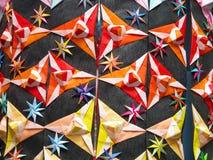 Particolare della decorazione di Origami Fotografia Stock Libera da Diritti