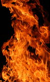 Particolare della fiamma Immagine Stock Libera da Diritti