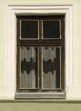 Particolare della finestra storica fotografia stock libera da diritti