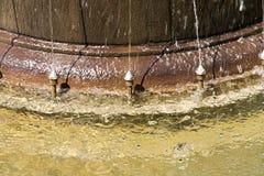 Particolare della fontana Fotografia Stock Libera da Diritti