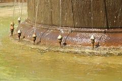 Particolare della fontana Fotografie Stock