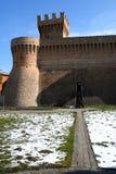 Particolare della fortezza di Urbisaglia Immagine Stock