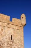 Particolare della fortificazione del Marocco Essaouira Immagine Stock