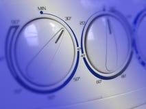 Dettaglio della lavatrice immagini stock libere da diritti