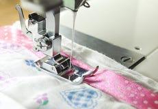 Particolare della macchina per cucire fotografia stock libera da diritti