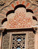 Particolare della moschea a Cordova, La Mezquita Immagine Stock