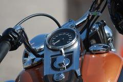 Particolare della motocicletta Immagini Stock