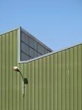 Particolare della parete della fabbrica Immagine Stock