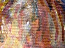 Particolare della pittura acrilica Fotografie Stock Libere da Diritti