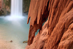 Particolare della roccia di formazione rocciosa fotografie stock libere da diritti