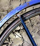 Particolare della rotella di bicicletta Immagine Stock Libera da Diritti