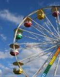 Particolare della rotella di Ferris Immagini Stock Libere da Diritti