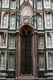 Particolare della Santa Maria del Fiore (Duomo) della basilica immagini stock libere da diritti