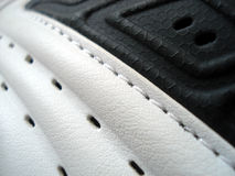Particolare della scarpa da tennis Fotografia Stock
