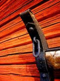Particolare della slitta dell'annata Fotografia Stock Libera da Diritti