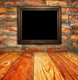 Particolare della stanza con la cornice fotografie stock libere da diritti