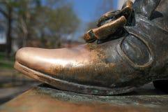 Particolare della statua di Harvard Fotografie Stock Libere da Diritti