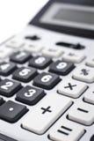 Particolare della tastiera del calcolatore Fotografia Stock