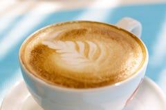 Particolare della tazza di caffè Fotografie Stock