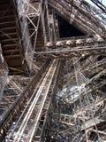 Particolare della Torre Eiffel (Parigi/Francia) immagini stock libere da diritti