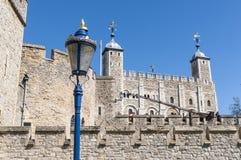 Particolare della torretta di Londra, Regno Unito. Fotografie Stock Libere da Diritti