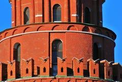 Particolare della torretta di Mosca Kremlin Foto a colori Immagine Stock Libera da Diritti