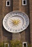 Particolare della torretta di orologio Fotografie Stock Libere da Diritti