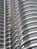 Particolare della torretta di Petronas   Immagine Stock