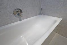 Particolare della vasca di bagno Fotografia Stock