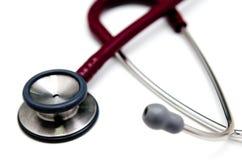 Particolare dello stetoscopio Immagini Stock