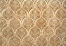 Particolare di Alhambra immagine stock