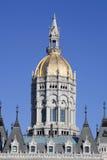 Particolare di architettura della cupola capitale della costruzione Fotografia Stock Libera da Diritti