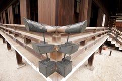 Particolare di architettura giapponese classica Fotografia Stock