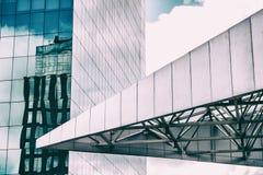 Particolare di architettura moderna Fotografia Stock