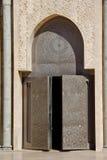 Particolare di Casablanca della moschea del Hassan II Fotografie Stock Libere da Diritti