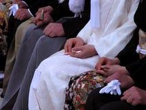 Particolare di cerimonia nuziale Fotografia Stock