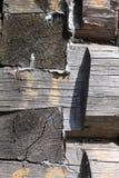 Particolare di costruzione di legno fotografia stock libera da diritti