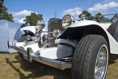 Particolare di Excalibur (automobile) nella parte anteriore Fotografia Stock
