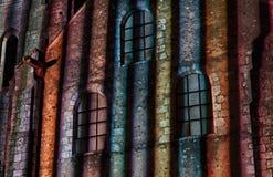 Particolare di illuminazione di Chartres Fotografia Stock