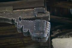 Particolare di legno della casa Fotografia Stock Libera da Diritti