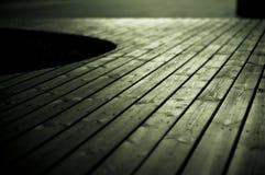 Particolare di legno di Decking Fotografie Stock Libere da Diritti