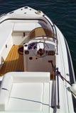 Particolare di lusso della barca fotografie stock libere da diritti