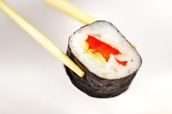 Particolare di Maki dei sushi Fotografia Stock Libera da Diritti