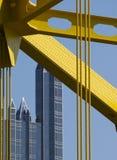 Particolare di Pittsburgh Immagini Stock