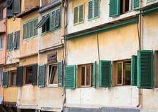 Particolare di Ponte Vecchio Fotografia Stock Libera da Diritti