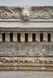 Particolare di rilievo del greco antico Immagini Stock Libere da Diritti