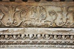 Particolare di rilievo del greco antico Fotografie Stock